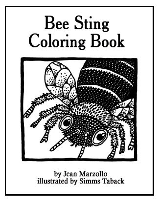 Bee Sting Coloring Book