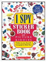 I SPY Sticker Book