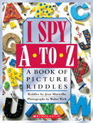 I SPY A To Z Cover