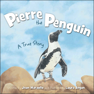 Pierre the Penguin Cover