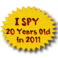 I SPY Books - 20 Years old in 2011