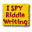 I SPY Riddle Writing